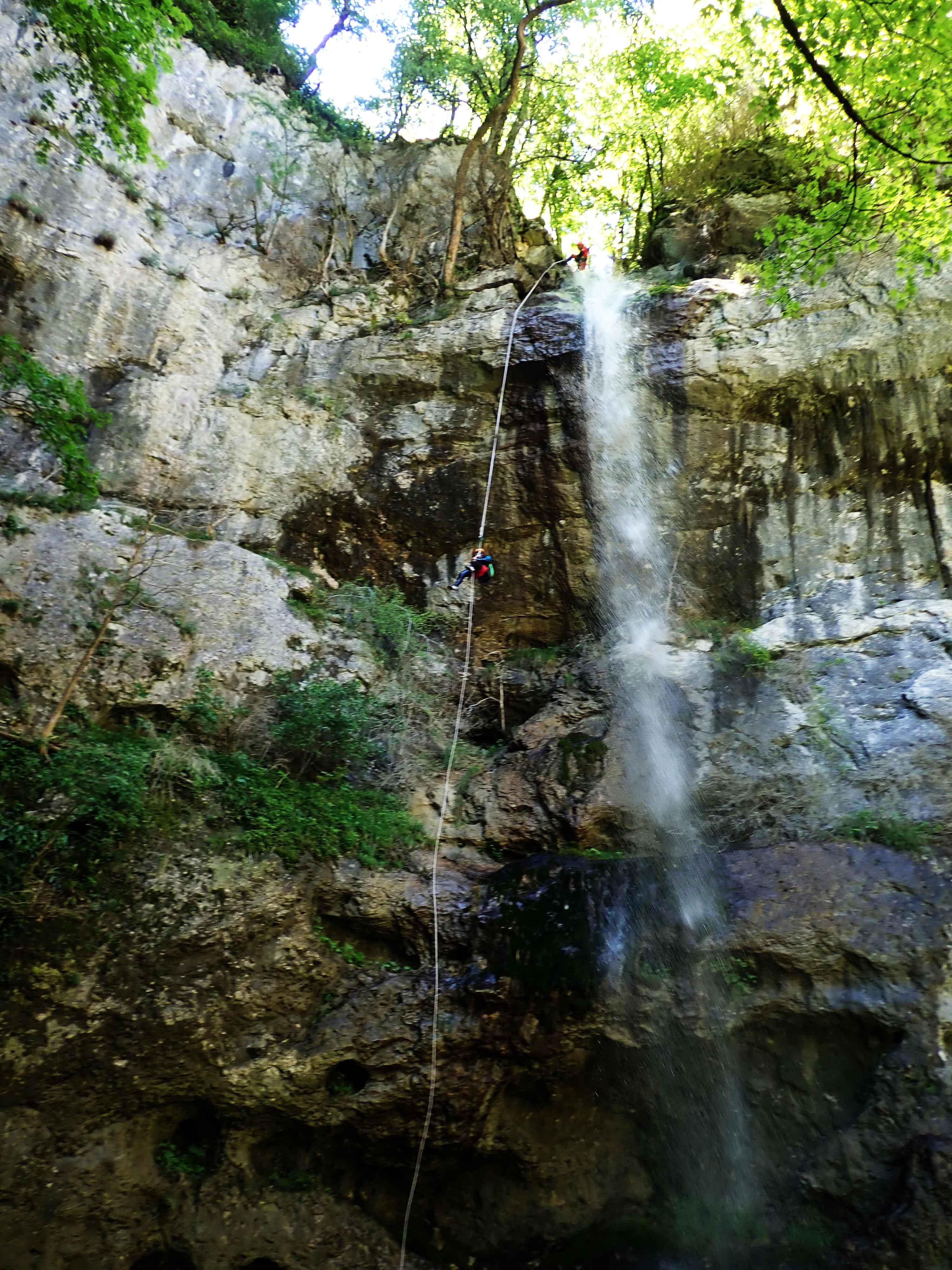 Cascade 40 mètres le Malin